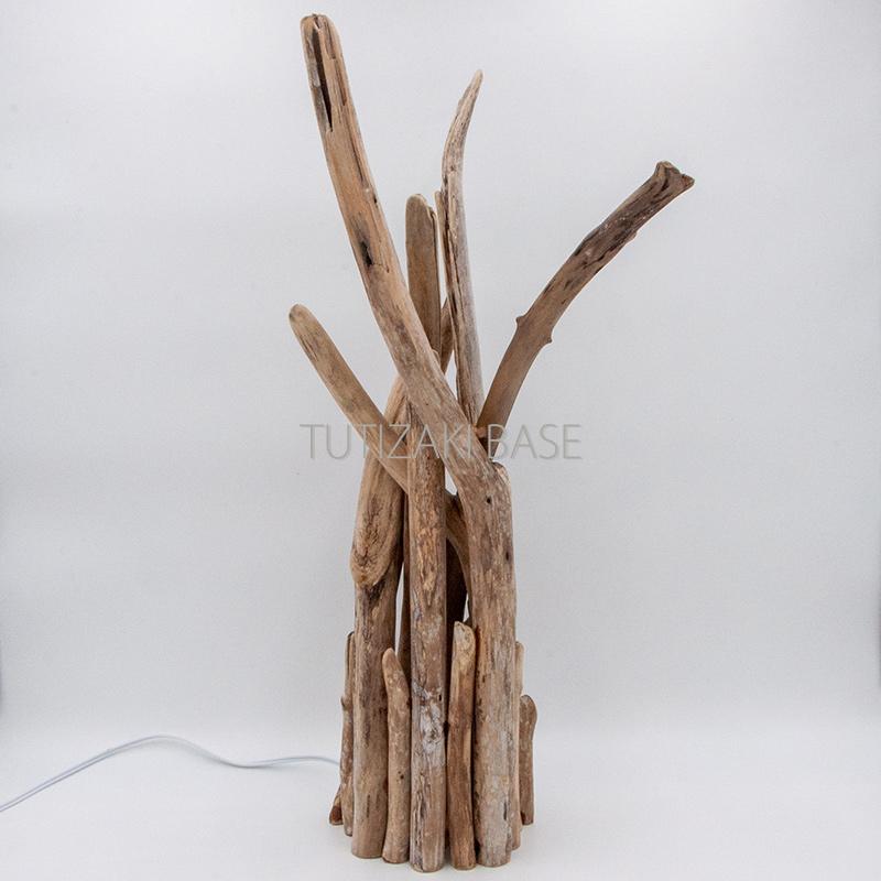 流木ランプ 04