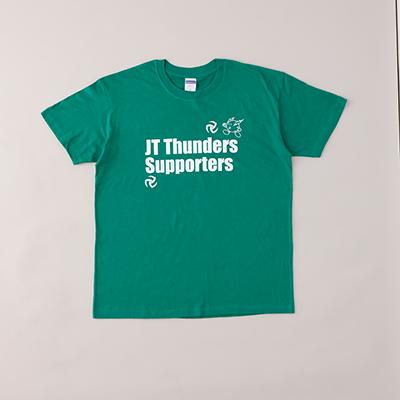 JTサンダーズ サポーターグリーンTシャツ