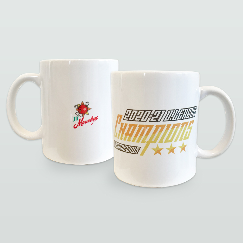 JTマーヴェラス 2020-21 V.LEAGUE 優勝記念マグカップ