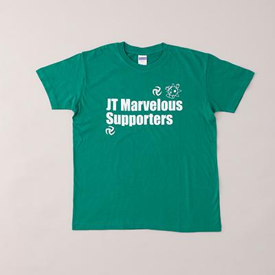 JTマーヴェラス サポーターグリーンTシャツ
