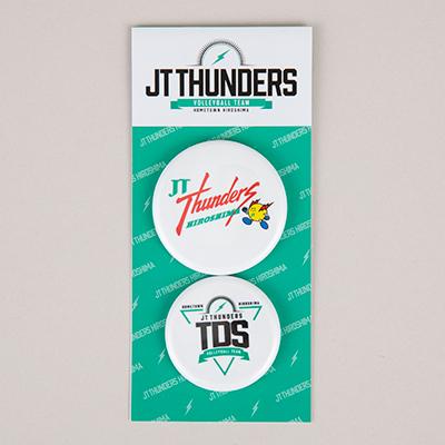 JTサンダーズ広島 缶バッジ