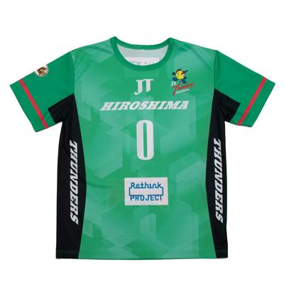 JTサンダーズ広島 レプリカTシャツ 3rd グリーン