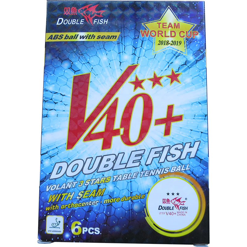ABS 3スター Double Fish V40+(6個入)