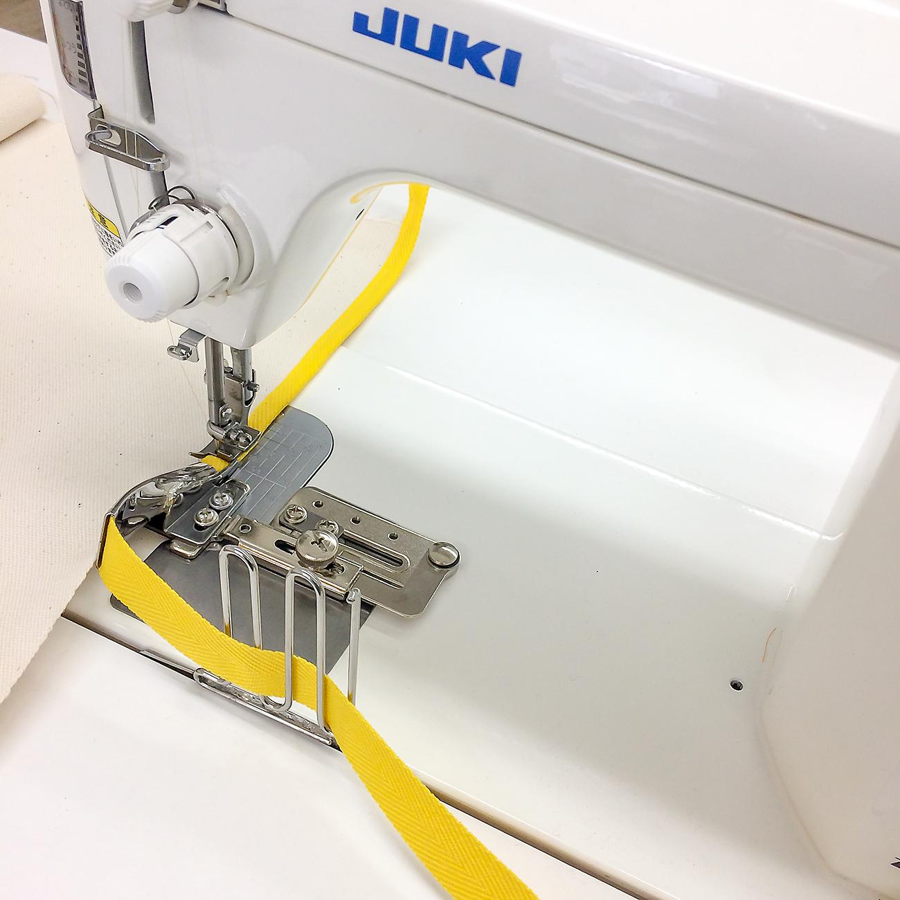 【送料無料】テープ案内ガイド(Max:60mm) 職業用ミシン用