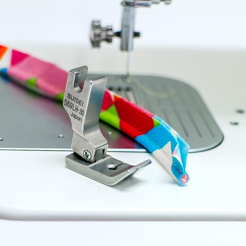 【送料無料】パイピングコード押え金 Max:5mm 職業用ミシン用