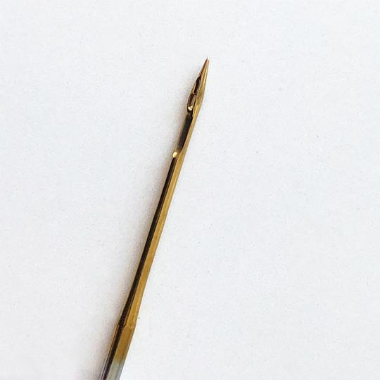 【オルガン針】(丸針)工業用ミシン針 職業用ミシン針 【DB×1 (PD) #16】16番10本入り