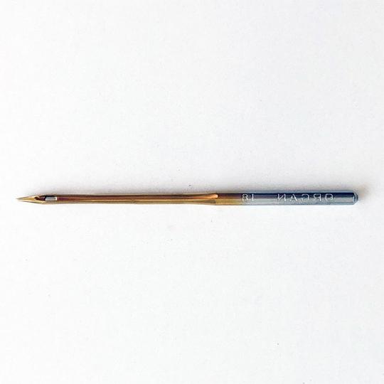 【オルガン針】(丸針)工業用ミシン針 職業用ミシン針 【DB×1 (PD) #18】18番10本入り