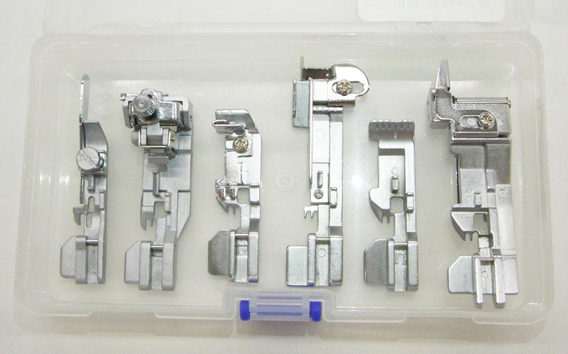 【送料無料】 6点のお得な押えセット プロキット ロックミシン (MO-1000シリーズ)