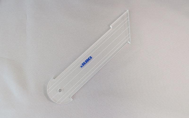 【送料無料】 キルト用 ルーラーセット(5点セット) テーブルタイプ 【家庭用ミシン:HZL-NX7用】