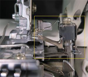 2本糸切替アタッチメント ロックミシン MO-114D