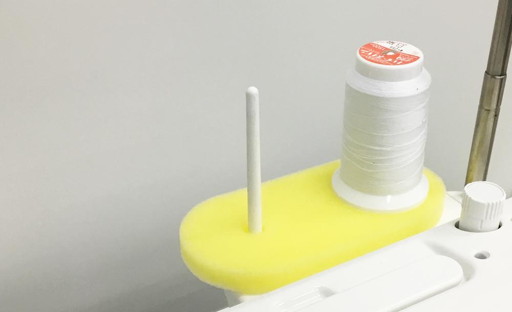 糸巻シート(黄色) 職業用ミシン用
