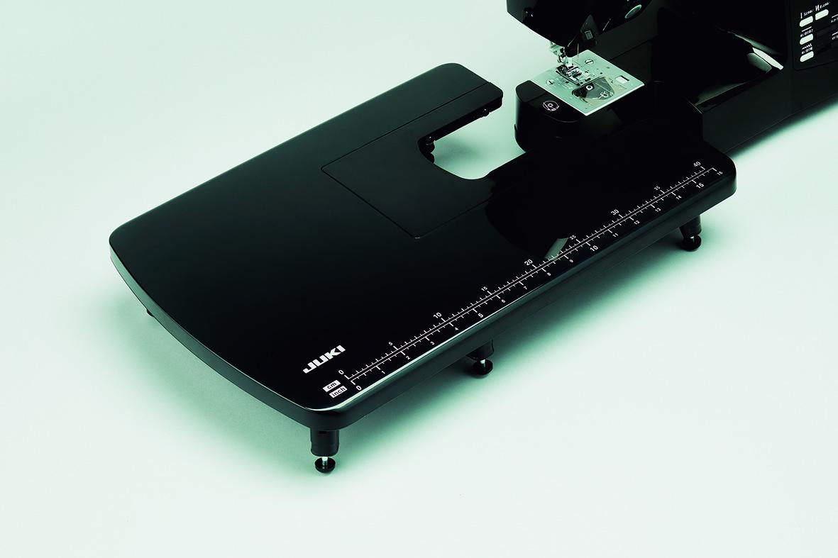 家庭用ミシン専用ワイドテーブル HZL-J1000 Black 【送料無料】