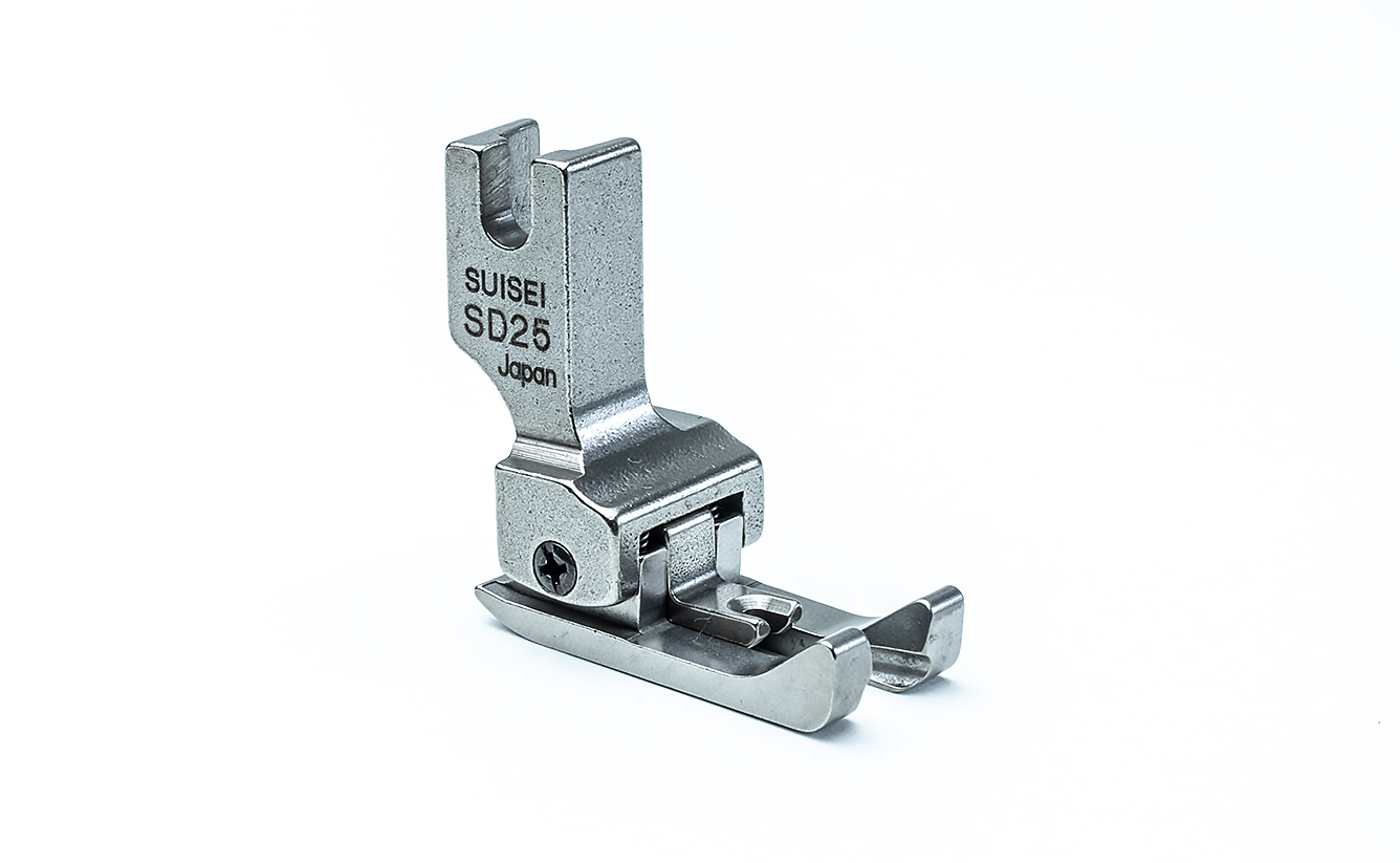 【送料無料】両側ステッチ押え金 2.5mm 職業用ミシン