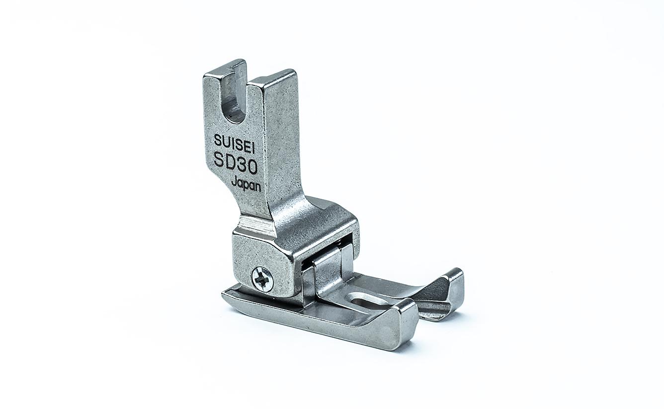 【送料無料】両側ステッチ押え金 3.0mm 職業用ミシン