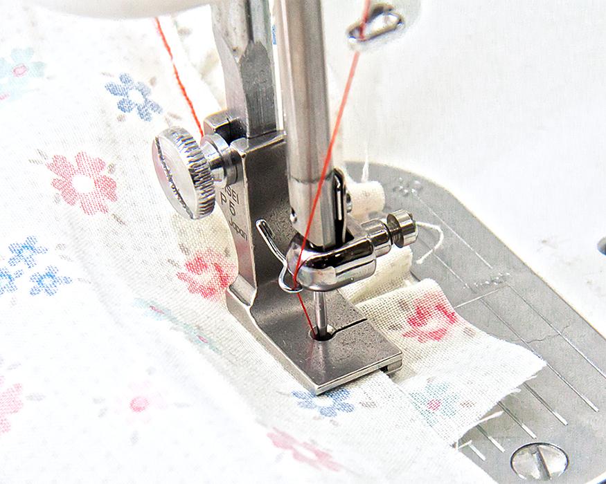 縫い合わせギャザー押え金 職業用ミシン用
