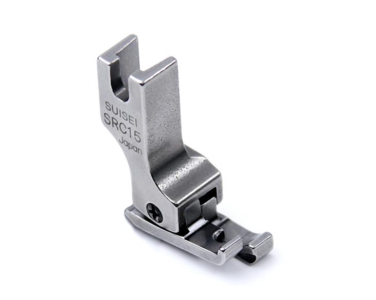 【送料無料】 コンパクト型ステッチ押え金 右ガイド 1.0mm 職業用ミシン用