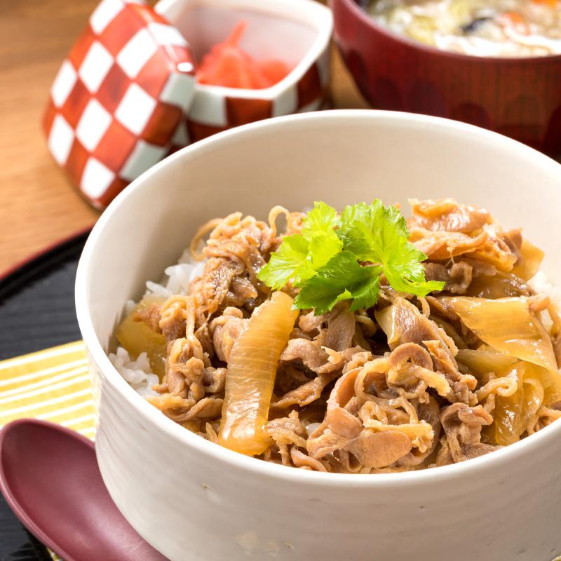鶏すき丼(モモ肉/国産)140g 冷凍