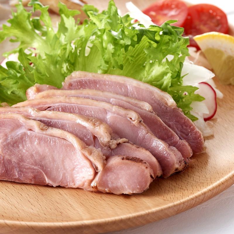 """""""鶏たたき""""炙り鳥刺し/加熱生食感タイプ(モモ肉/国産)1枚 冷凍"""