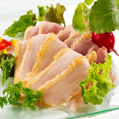 【訳アリ】黒さつま鶏スモーク切り落とし(むね)150g・冷凍