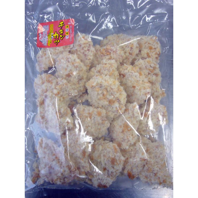一口サイズのチキンカツ(ムネ肉/国産)20枚 冷凍