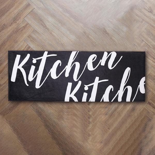 【送料無料】北欧風 キッチンマット  台所マット リビングマット ドアマット フランネル KITCHEN