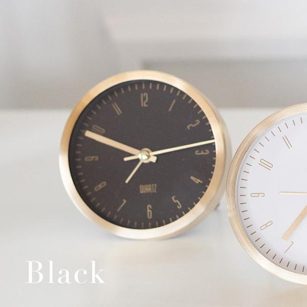 ゴールド シンプルモダン デスククロック  北欧モダン 時計 アラーム時計