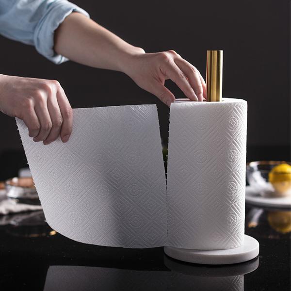 天然大理石使用 キッチンペーパー ホルダー