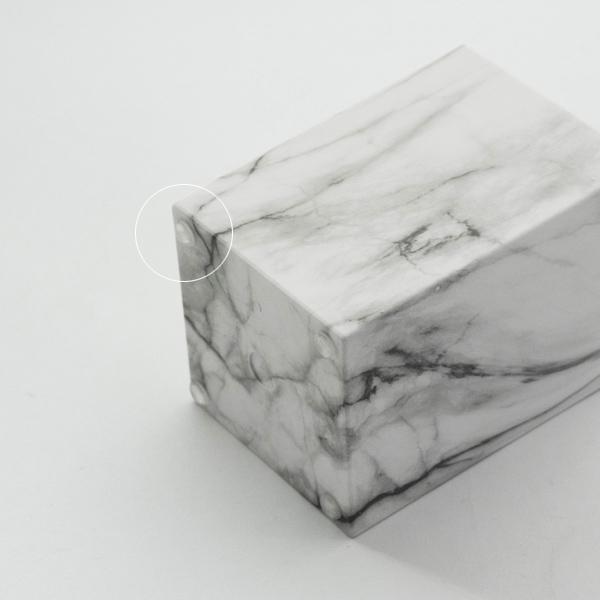 大理石柄  ペンスタンド メイクアップブラシホルダー