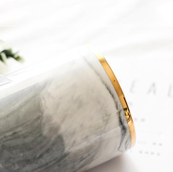 大理石柄 メイクブラシケース 化粧ブラシホルダー 化粧筆  小物 多機能収納
