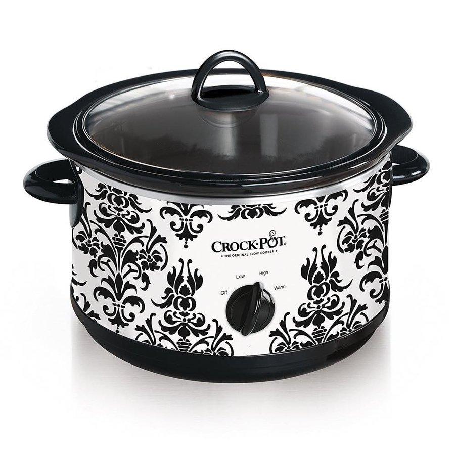 クロックポット Crock Pot SCR450-PT 低温調理器 低温圧力鍋 4-1 2-Quart Slow Cooker Black スロークッカー アメリカキッチン家電
