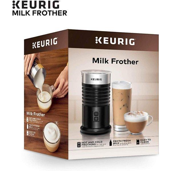 キューリグ ミルク泡立て器 Keurig Standalone ホット コールド 6オンス ブラック