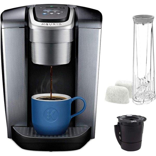 キューリグ コーヒーメーカー Keurig Kエリート シングルカップ ワンサイズ シルバー