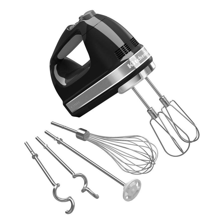 キッチンエイド KitchenAid 9段階スピード切替ハンドミキサー 泡立て器 黒 アメリカキッチン家電