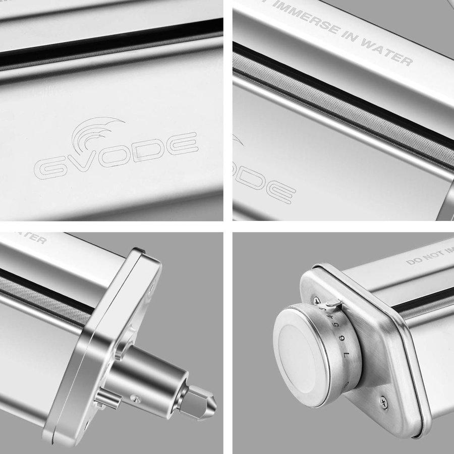 グヴォデ キッチンエイドパスタローラーアタッチメント GVODE G1703-01 ステンレス鋼