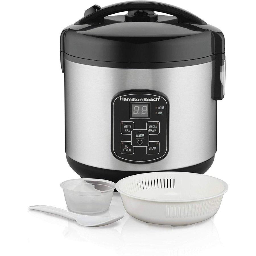 ハミルトンビーチ Hamilton Beach 炊飯器&スチーマー 8カップ 37518 アメリカキッチン家電
