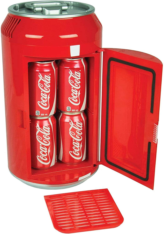 コカ・コーラ Coca Cola ミニ冷蔵庫 レトロ冷蔵庫 ポータブル冷蔵庫 コーラ冷蔵庫