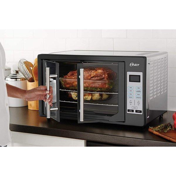 オスターOster フレンチドアトースターオーブン XL ブラック TSSTTVFDDG-B キッチン家電