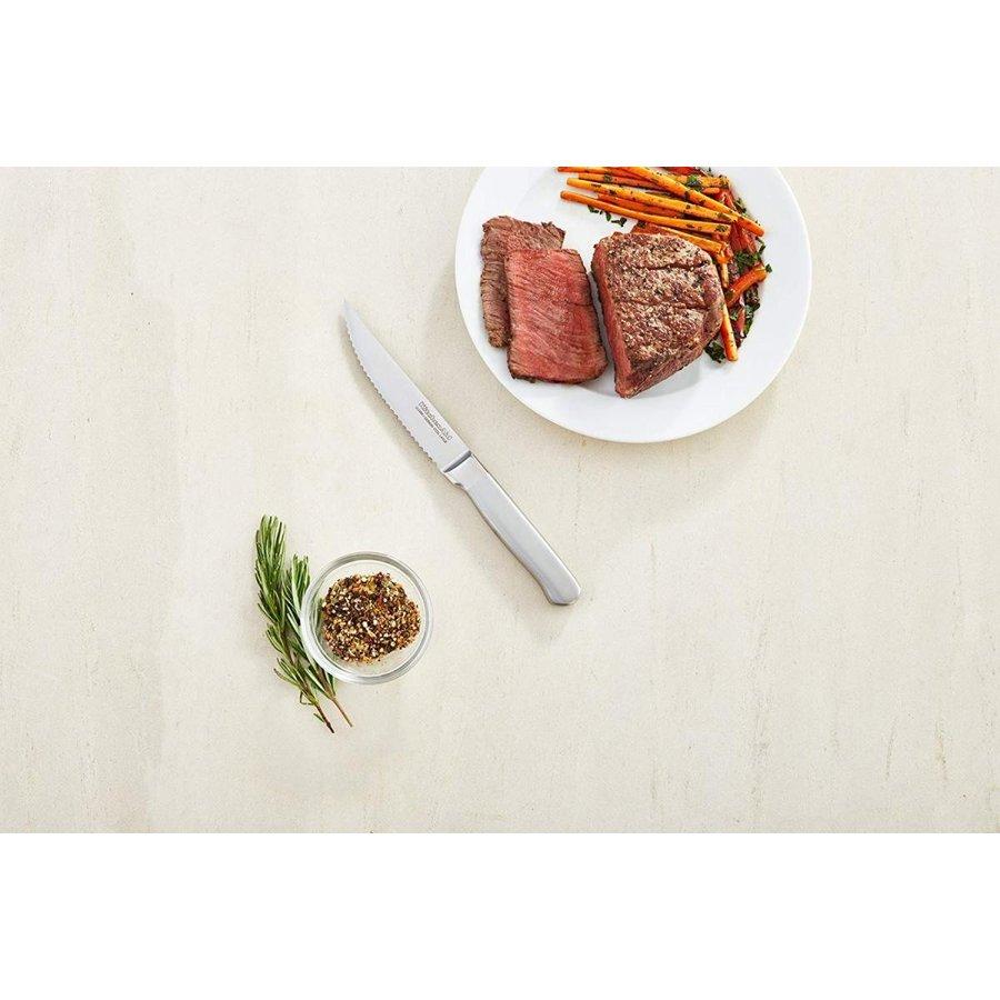 キッチンエイド クラシック鍛造シリーズブラシステーキナイフセット KitchenAid KKFSS4ST