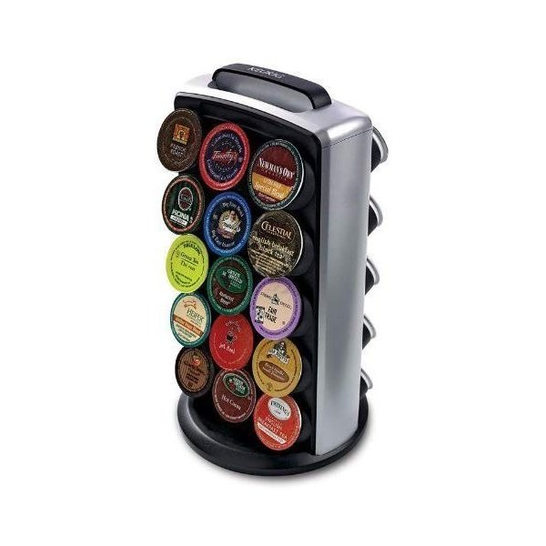 キューリグ コーヒー収納ボックス Keurig 5071 シングルカップ コーヒーメーカー ブラック