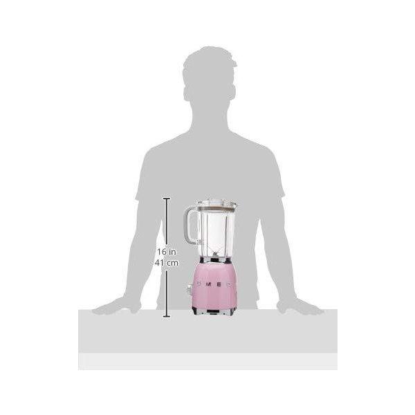 スメッグ スタンドブレンダー SMEG BLF01PKUS 電動式 レトロデザイン ミキサー ピンク