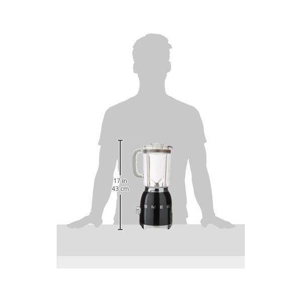 スメッグ スタンドブレンダー SMEG BLF01BLUS 電動式 レトロデザイン ミキサーブラック