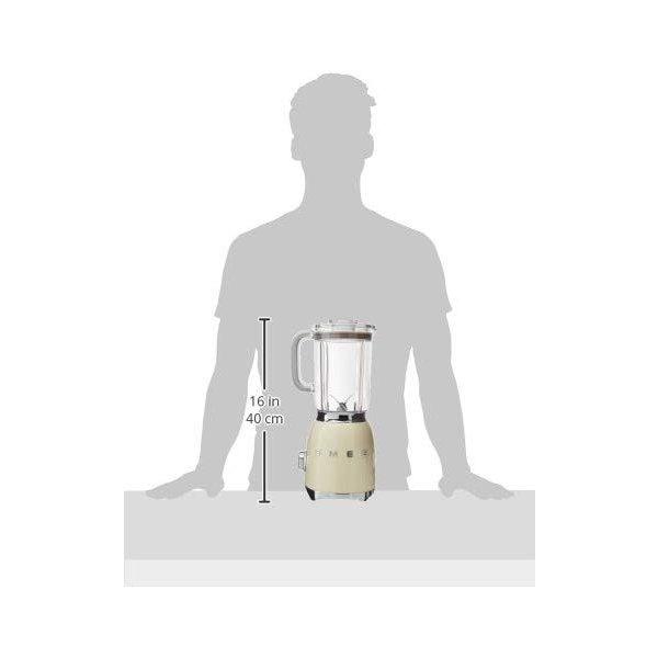 スメッグ スタンドブレンダー SMEG BLF01CRUS 電動式 レトロデザイン ミキサークリーム