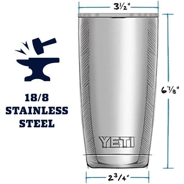 イエティ ランブラー 591ml タンブラー ステンレススチール YETI 真空断熱 魔法瓶