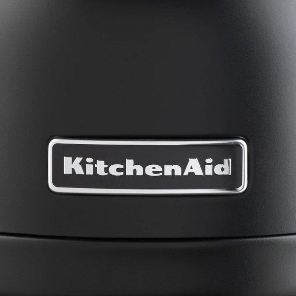 キッチンエイド 電気ケトル 1.25リットル マットブラック KitchenAid
