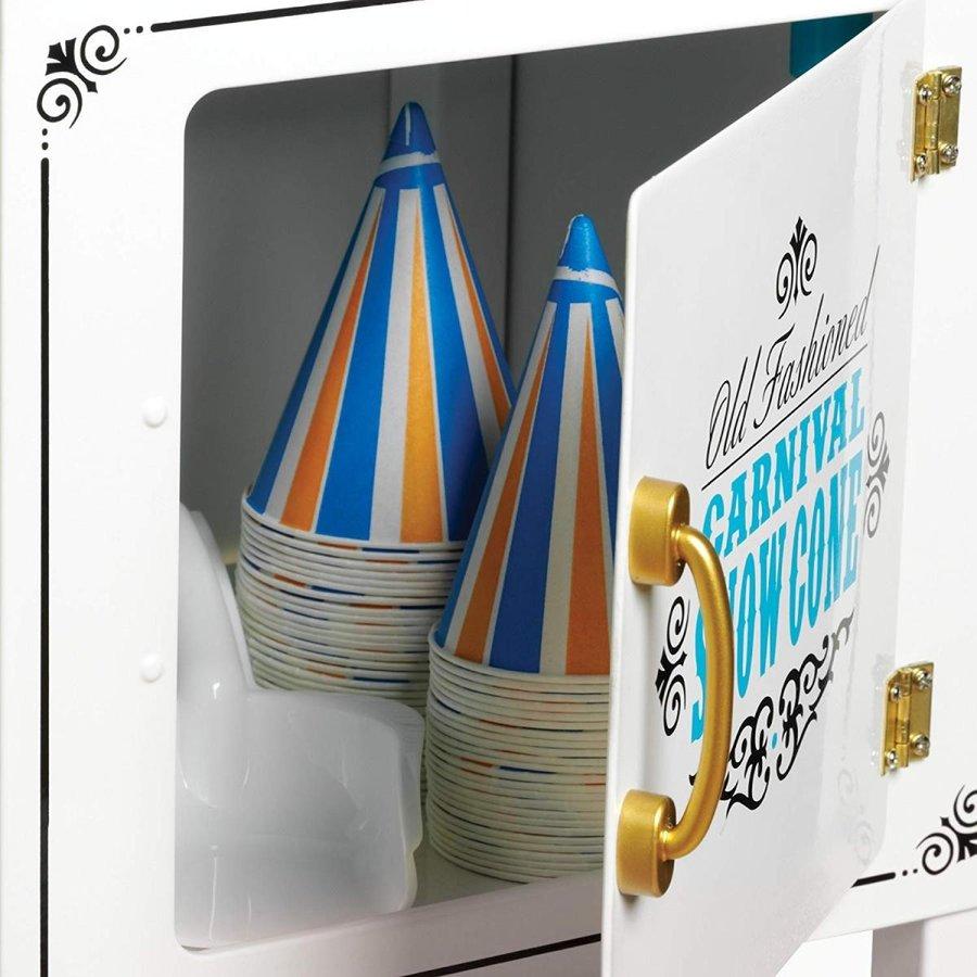 ノスタルジア Nostalgia SCC399 スノーコーンカート かき氷メーカー タイヤ付