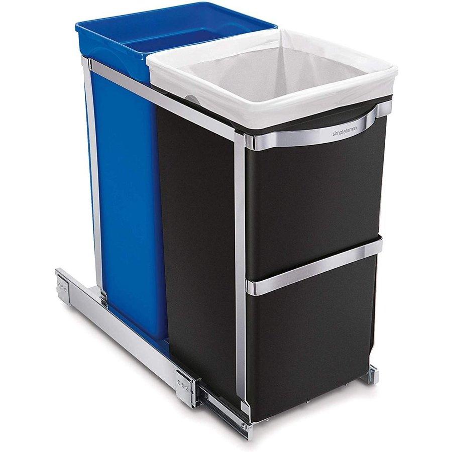 シンプルヒューマン ゴミ箱 simplehuman CW1016 35リットル引き出しツール付き