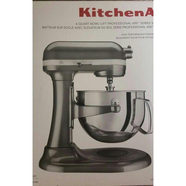 キッチンエイド プロ600 5.7L スタンドミキサー Kitchenaid KP26M1XQG5