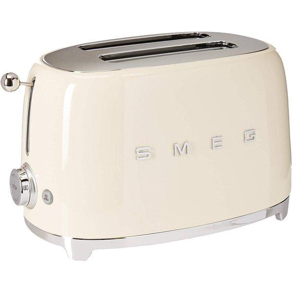 スメッグ トースター SMEG TSF01CRUS レトロデザイン 2スライス トースト クリーム