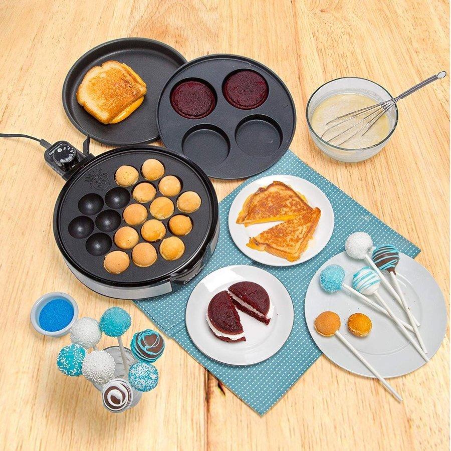 クチーナプロ CucinaPro マルチベイカーデラックス グリルドサンドイッチ たこ焼き ケーキ