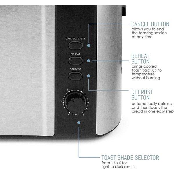 マキシマティック トースター Maxi-Matic ECT-3100 トースト 4スライス容量